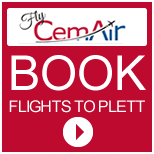 Book flights to Plett