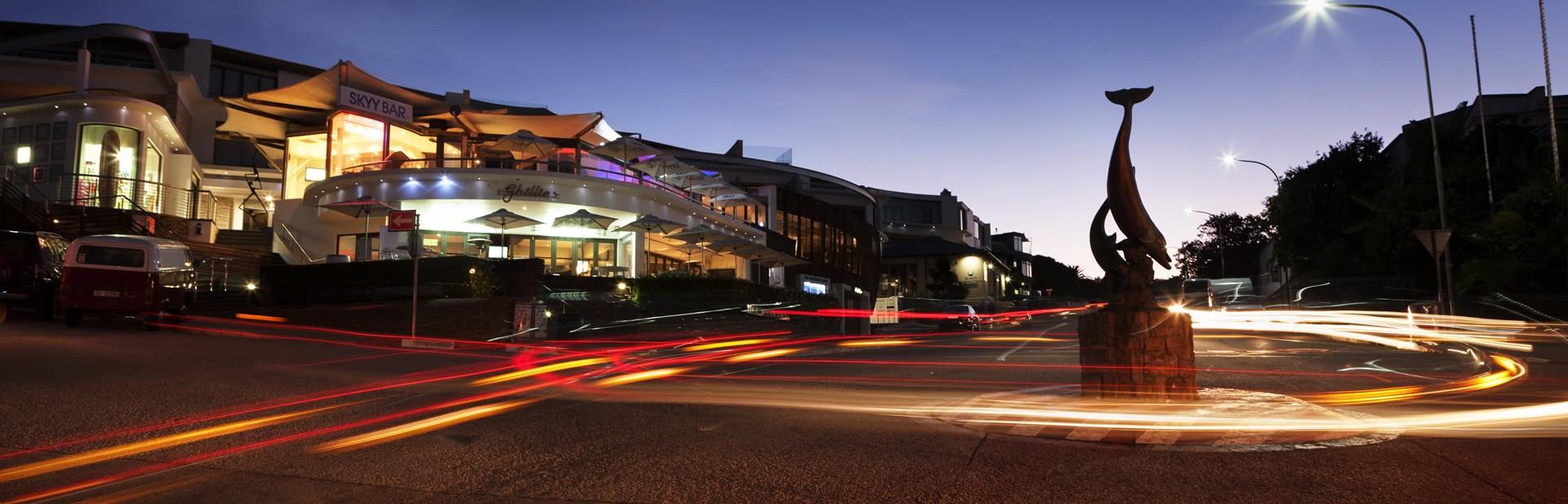 Plett main street roundabout