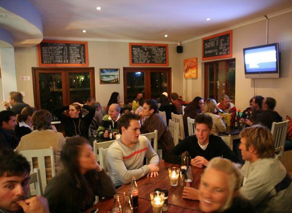 Surf Cafe in Plett