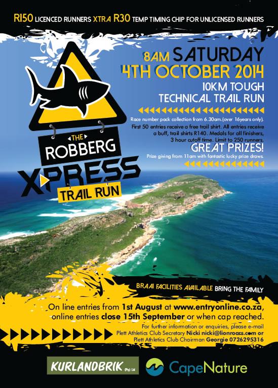 The Robberg Express Trail Run