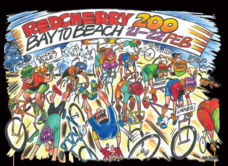 Red Cherry 200 stage race road cycle