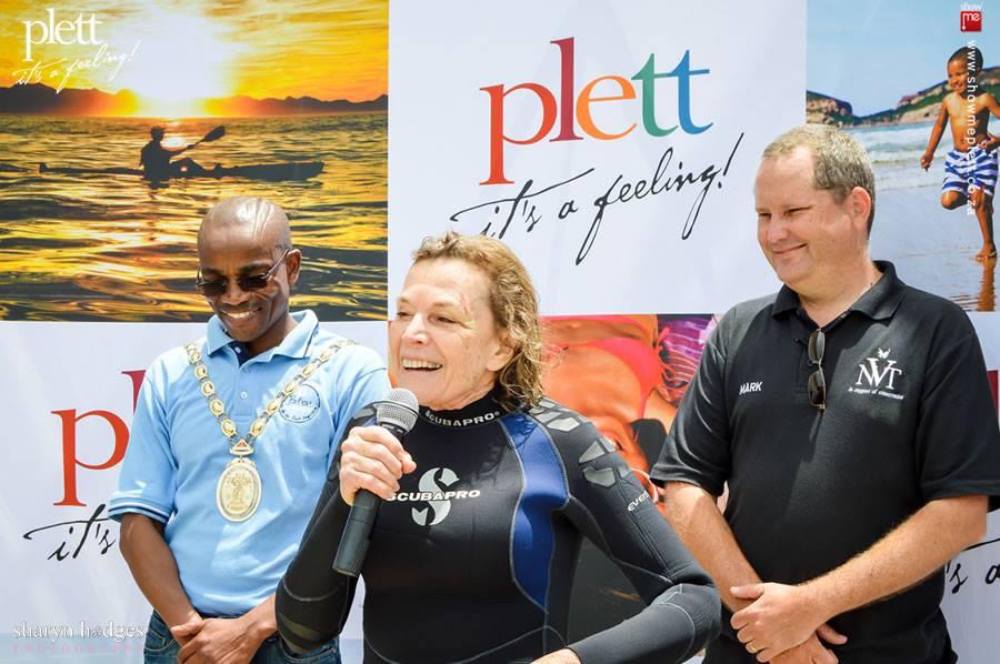 The launch of the Plett Hope Spot
