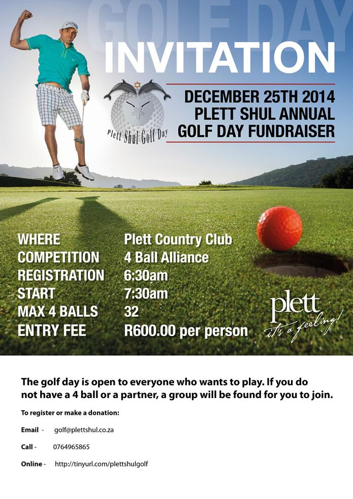 Shul Golf Day