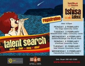 Tshisa Talent Search now on