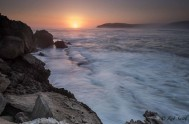 Sunset from The Island on Robberg, by Rob Smith