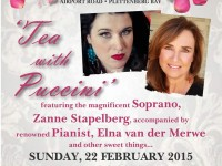 Tea with Puccini at Ouland Royale