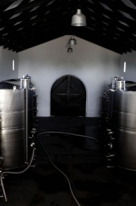 cellar harvest tanks