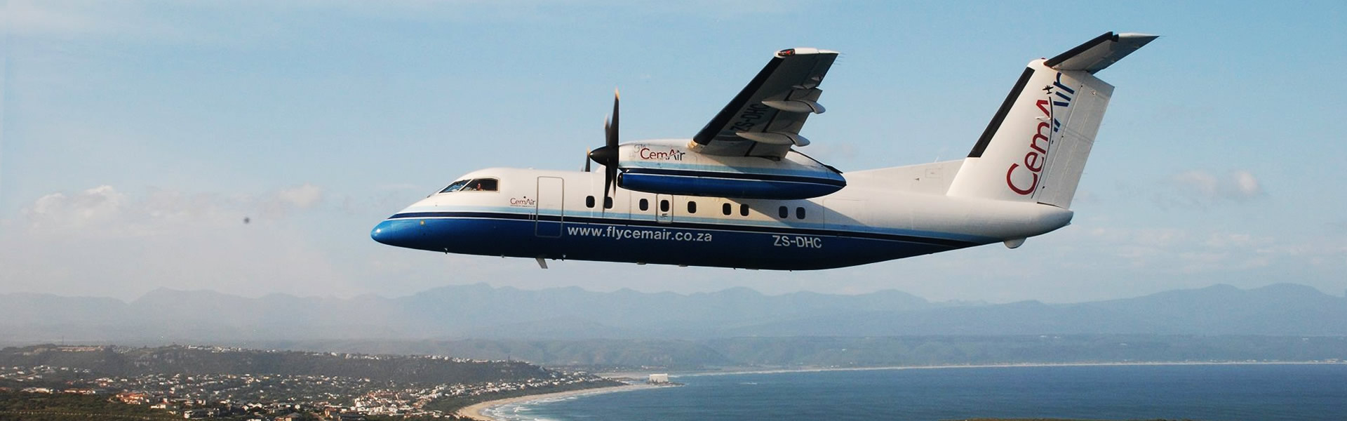 CemAir flies to Plett daily from OR Tambo and Cape Town