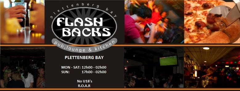 Flashbacks Pub, Lounge and Kitchen in Plett