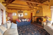 packwood - sitting room with fire
