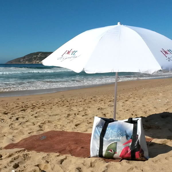 Exclusive Plett Wine & Bubbly beach bags now for sale « Exclusive ...