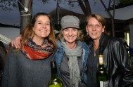 Lisa Wilter, Claire Letoret and Tracey Collis