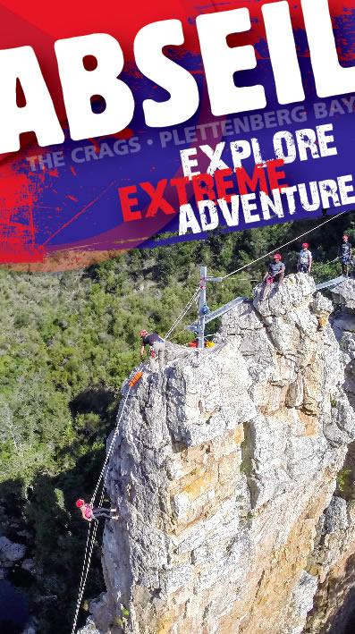 AfriAbseil - Abseil The Crags, Plettenberg Bay - Via Ferrata