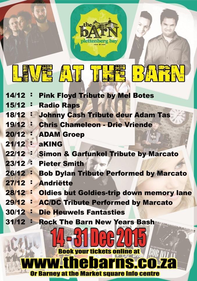 lineup-the-barns-plett-dec-2015