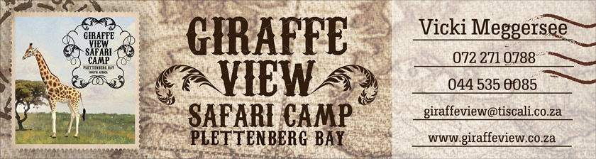 Giraffe View Safari Camp in Plettenberg Bay - Plett Giraffe View