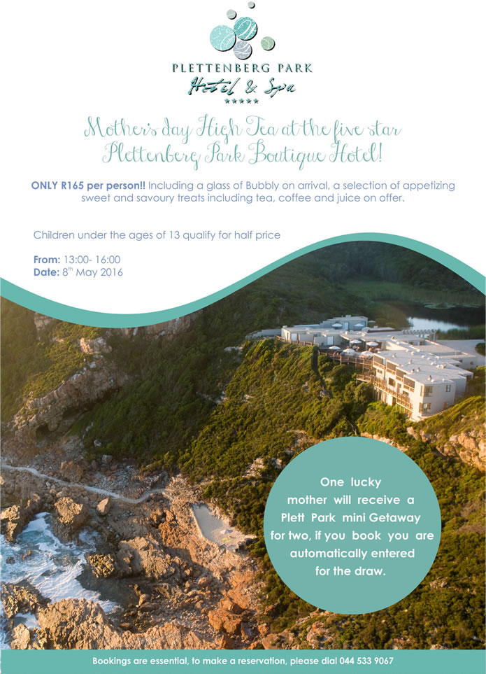 Mother's Day Special at Plett Park