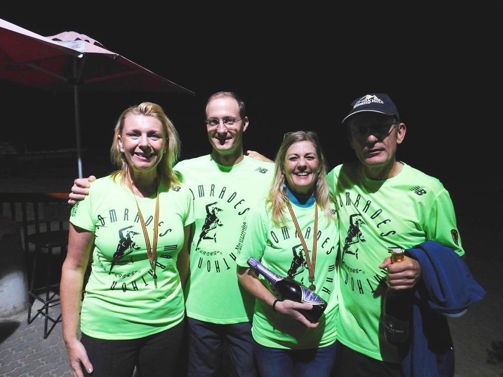 Six Plett runners complete Comrades marathon « Six Plett ...