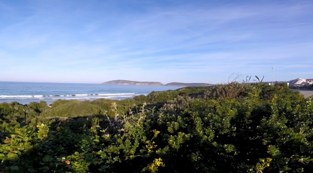 The view from Beachyhead Road in Plettenberg Bay, the 11th most expensive street in South Africa