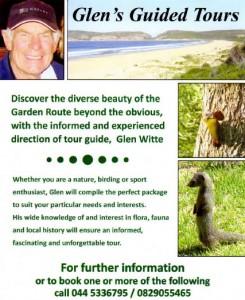 Glen's Guided Tours flyer
