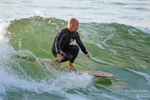 John McCarthy, greener surfer