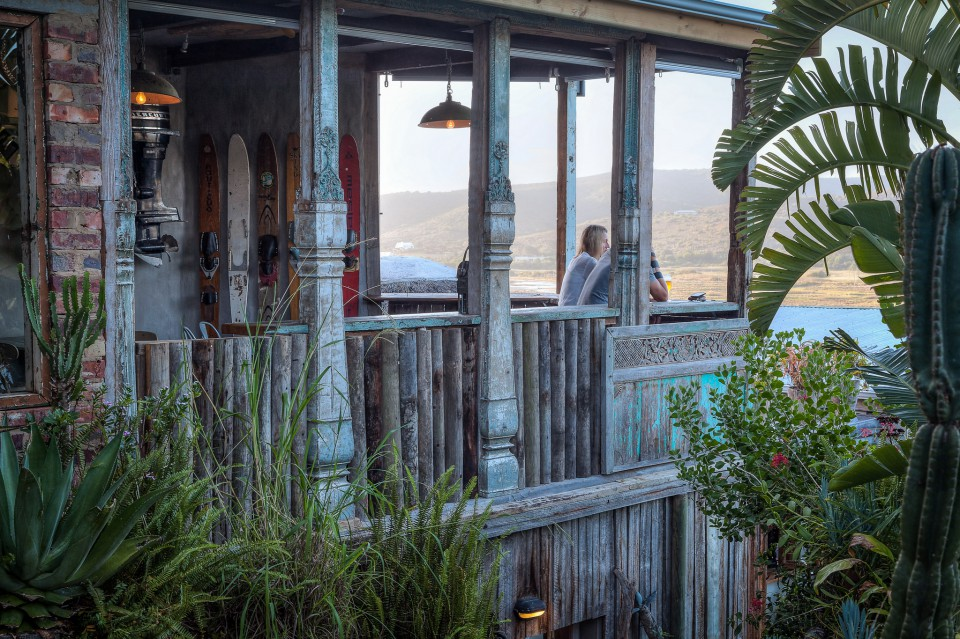 Simon's Bar at Emily Moon in Plett