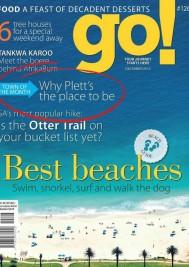 Plett featured in go! magazine