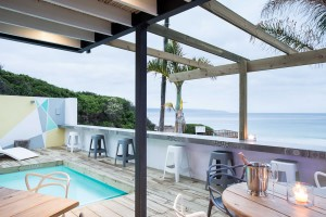 The Bungalow, beachfront accommodation in Plett