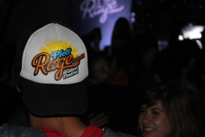 Plett Rage cap on backwards