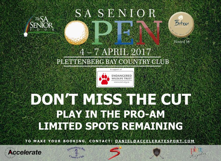 SA Senior Tour Pro-Am Flyer