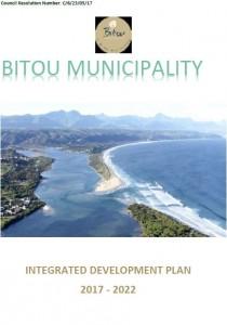 Bitou Municipality IDP stats