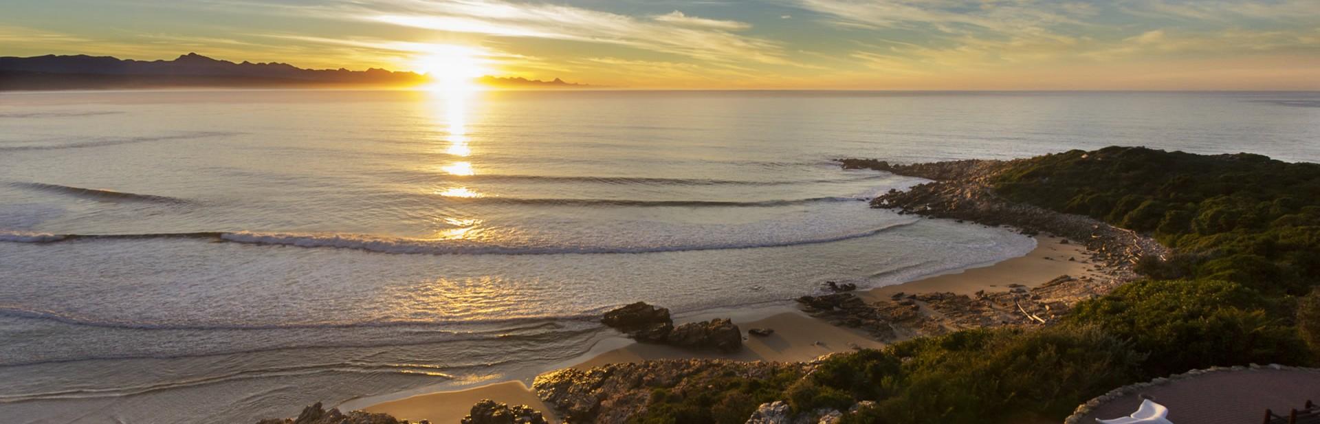 A perfect Plett sunrise
