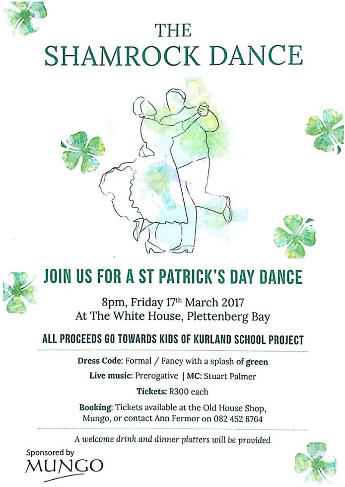 The Shamrock Dance, St. Patrick's Day 2017