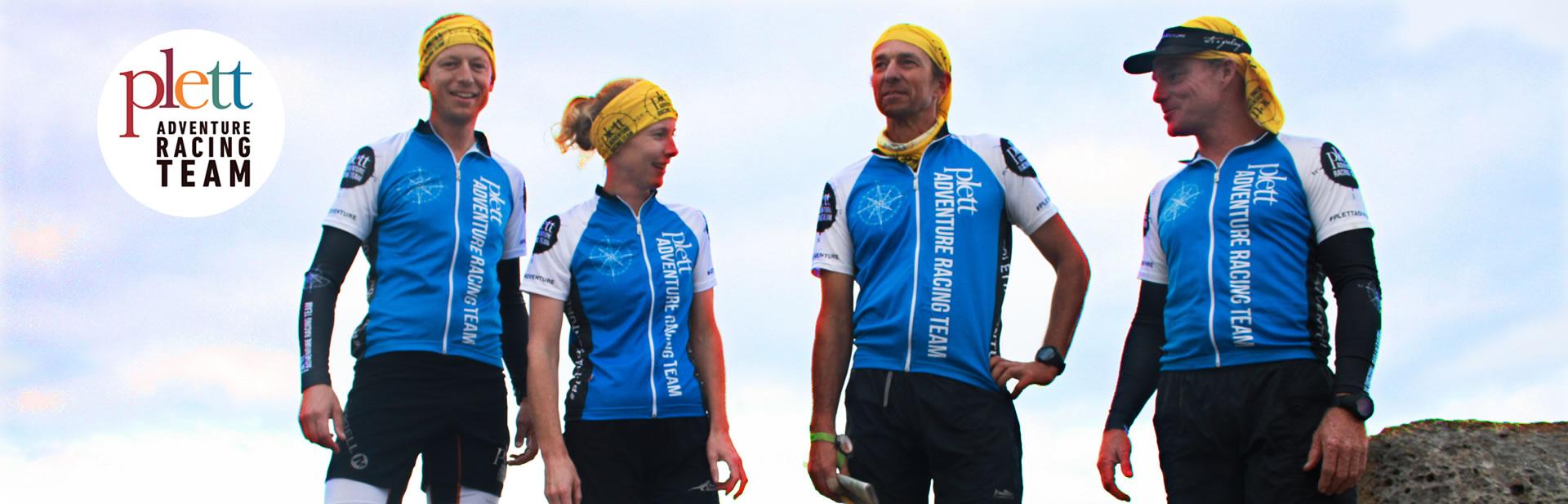 The Plett Adventure Racing Team: Petrus Maree, Kate Southey, Drew Scott and Andrew Damp