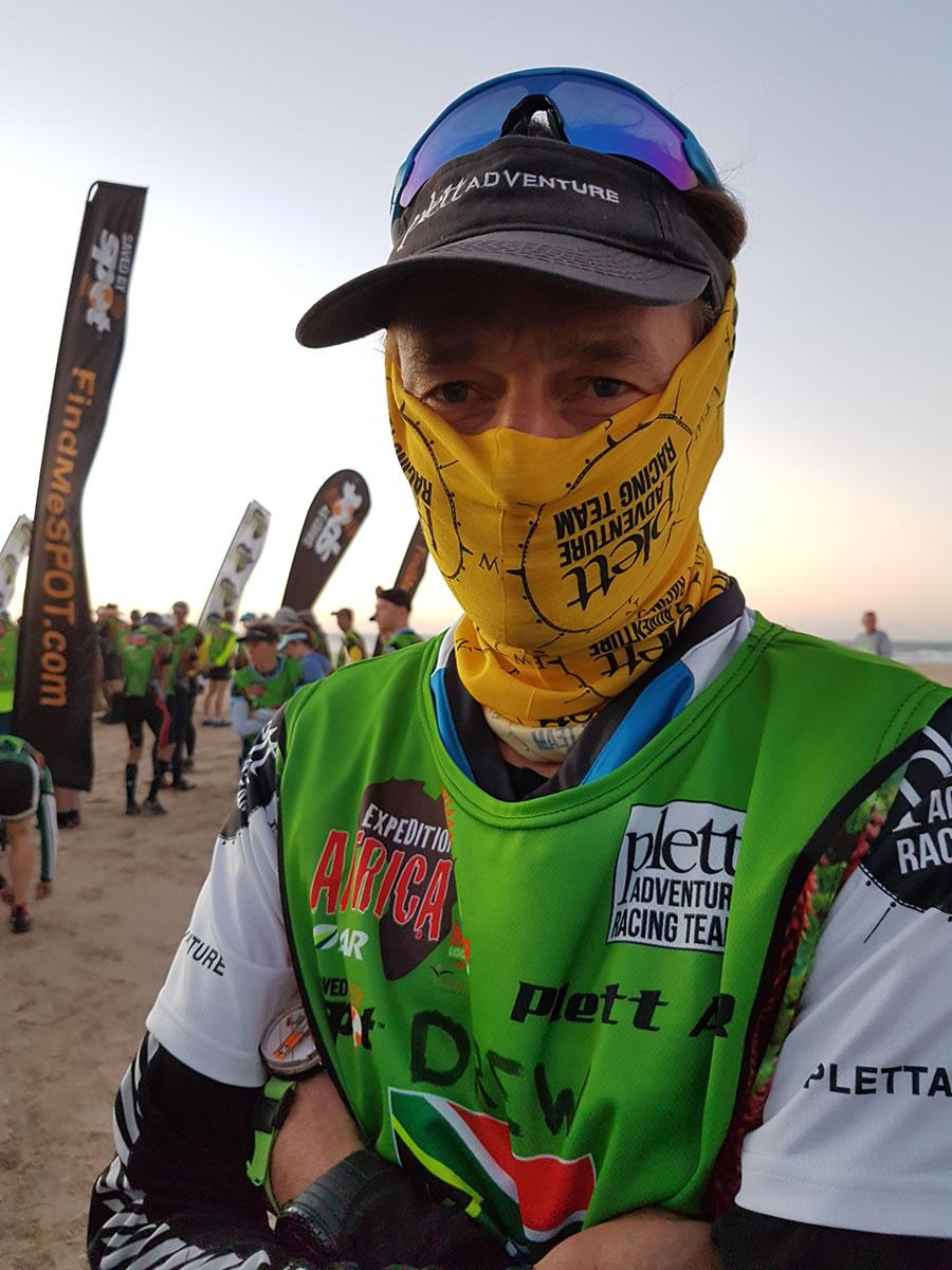 Petrus Maree of Plett Adventure Racing Team