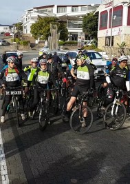 Inaugural Cross Cape Cycle Route rides out from Plett