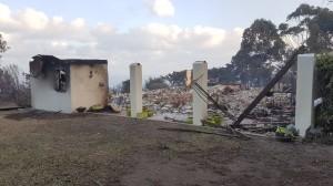 burnt down house fires plett 2017