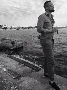 Jahmil Qubeka taking in the Cannes film scene