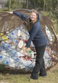 US expert on plastic waste visits Plett