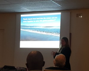 Plett Hope Spot lecture by Dr Jenna Jambeck