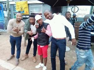 Enjoying the Soweto Derby at Skhulu'z Lounge in Kwano, Plett