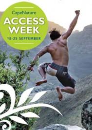 CapeNature Access Week 18-25 Sep