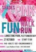 CANSA Shades of Pink Walk