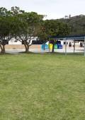 Temporary caravan park for December hols