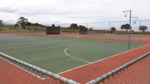 Tennis courts and other facilities close by
