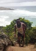 Melikhaya Msizi wins Robberg Xpress trail run