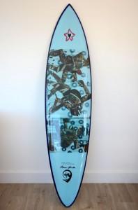 SHAUN TOMSON LIMITED EDITION REPLICA SURFBOARD