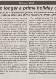 Is Plettenberg Bay no longer a prime holiday destination? Peter Wallington responds…