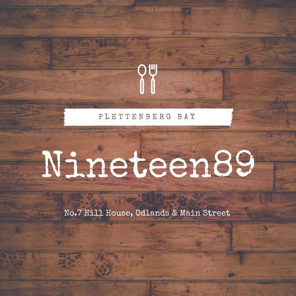 nineteen 89 restaurant plett