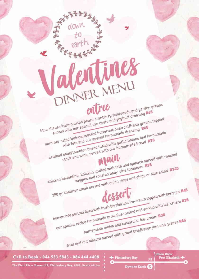 Valentine S Day Specials In Plett Valentines Day Specials Plett