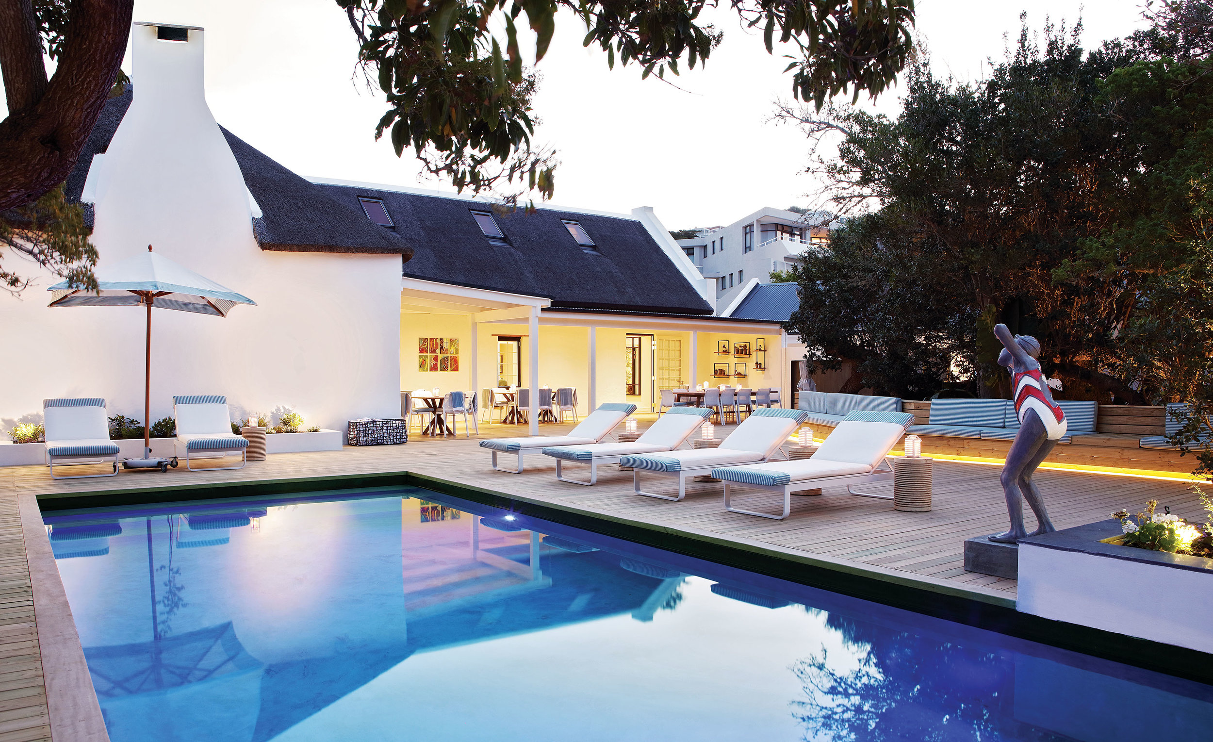 The Old Rectory in Plettenberg Bay - pool